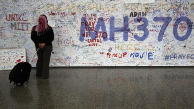 Captivating mystery: Messages for passengers aboard the missing Malaysia Airlines plane at Kuala Lumpur International ...