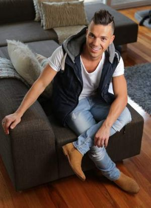 Singer Anthony Callea in his home, 10 years on from <i>Australia Idol</i>.