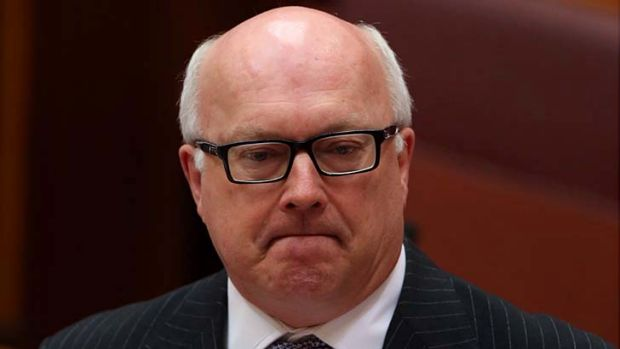 "George Brandis said Frederick Toben is a ""nutcase""."