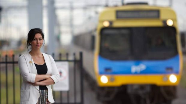 Luba Grigorovitch, secretary of Rail Tram and Bus Union is calling for ramps to be built at every train platform in ...