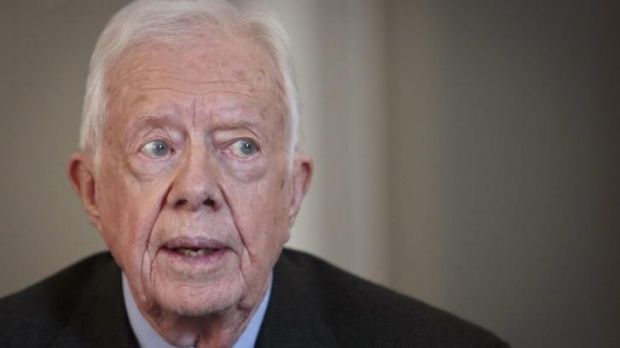 Defended the Snowden leaks: Former United States president Jimmy Carter.