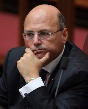Stepped aside: Arthur Sinodinos.