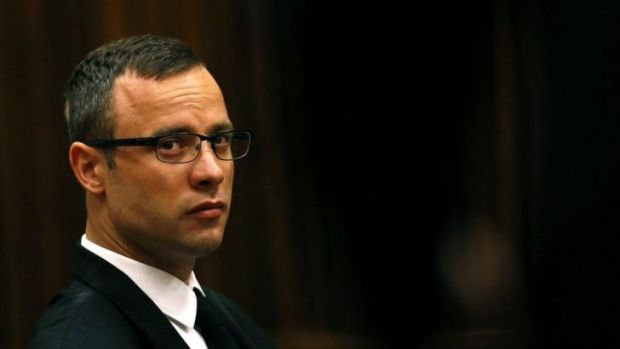 Likely to testify on Friday ... Oscar Pistorius sits in the dock prior to proceedings getting under way in court in ...