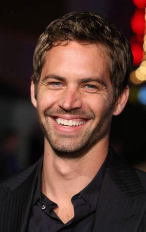 Fast and Furious star Paul Walker was a regular at racing events.