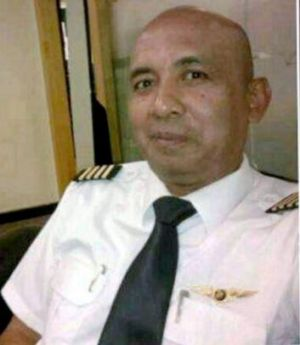 Rumoured marital troubles: The captain of Malaysia Airlines flight MH370, Zaharie Ahmad Shah.