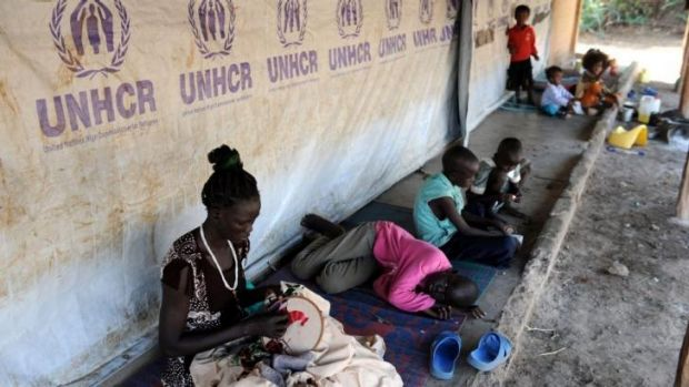 Confined: South Sudanese refugees at the Kakuma refugee camp in north-west Kenya.