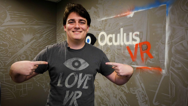 """This is the best shot virtual reality has ever had': Palmer Luckey, the 21-year-old co-founder of Oculus VR."