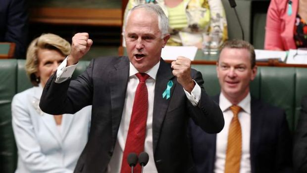 Communications Minister Malcolm Turnbull has gently mocked the reintroduction of imperial honours in a speech at ...