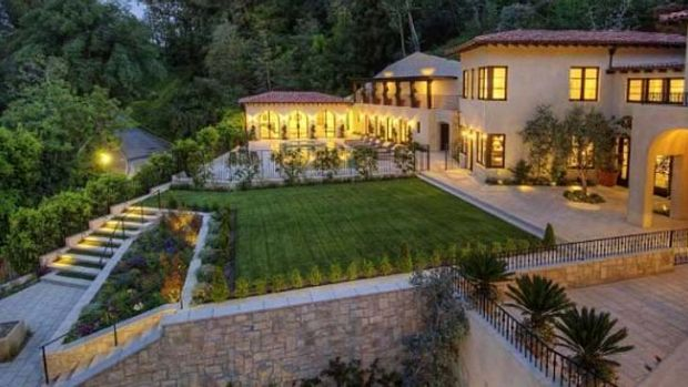 New home: Erica Packer has bought a mansion in Bel Air.