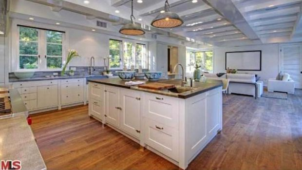 Huge kitchen: Erica Packer has bought a new home.