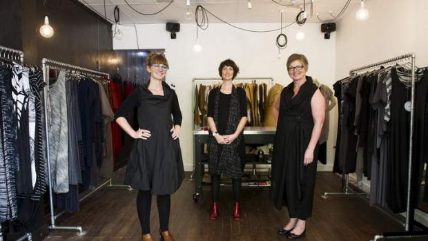 Designers Gemma Jameson, Franscesca Altenburg and Karen Lee have opened Assemblage Project on Londsdale St, Braddon.