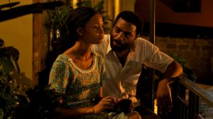Many faces: Chiwetel Ejiofor and Thandie Newton in <i>Half of a Yellow Sun</i>.