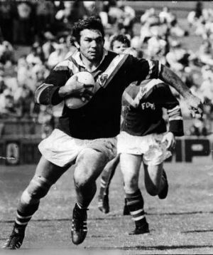 Beetson in action for Eastern Suburbs in 1976.