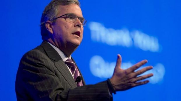Former Florida governor Jeb Bush is a potential candidate for the Republican presidential nomination.