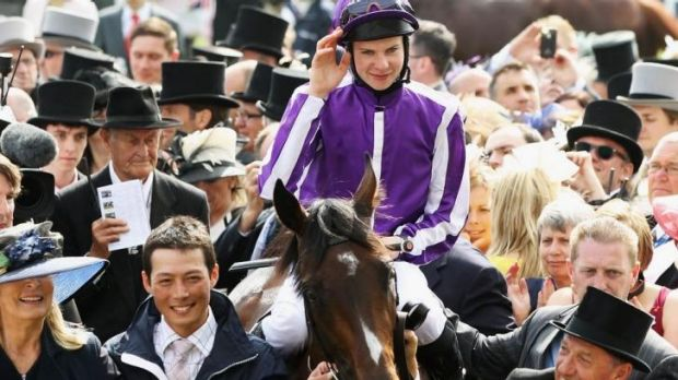 Solid pedigree: Joseph O'Brien and Camelot after the 2012 Epsom Derby.