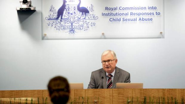 Justice Peter McClellan conducts the Royal Commission proceedings in Sydney.