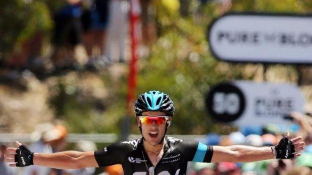 Australian cyclist Richie Porte's immediate future is under a cloud.