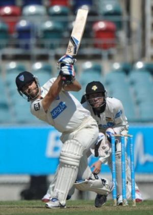 Ryan Carters scored 861 runs at 53.81 in his debut Sheffield Shield season for the Blues.