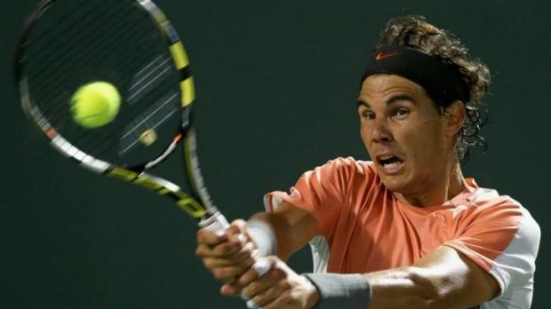 Rafael Nadal is through to the semi-finals.