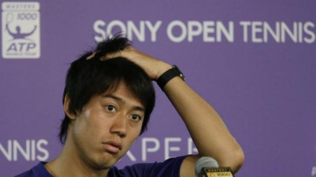 Injury: Kei Nishikori announces his withdrawal from his semi-final against Novak Djokovic.