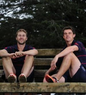 Michael and Peter O'Callaghan are looking forward to their cricket retirement.