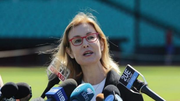 Generating debate: NSW Sport and Recreation Minister Gabrielle Upton  is pushing for greater gender equality in sport.