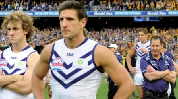 Ross Lyon says the grand final defeat won't matter as the Dockers prepare for a rematch against Hawthorn.