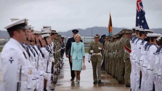Worthy of honour: Dame Quentin Bryce.
