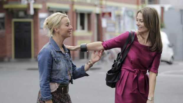 Head-to-head: <em>Offspring</em> stars Asher Keddie and Kat Stewart both nominated for outstanding actress.