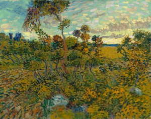 Vincent Van Gogh's <i>Sunset at Montmajour</i>.
