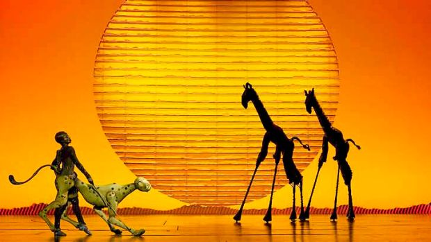 The Lion King stage production