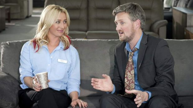 Asher Keddie also appeared in the ABC nominated comedy <i>It's a Date</i>.