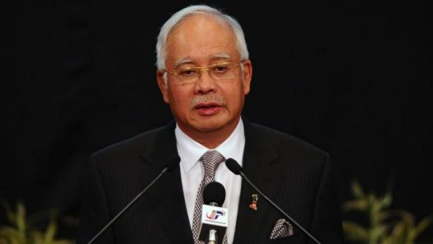 Heading to Perth ... Malaysian Prime Minister Najib Razak plans to view search operations up close this week.