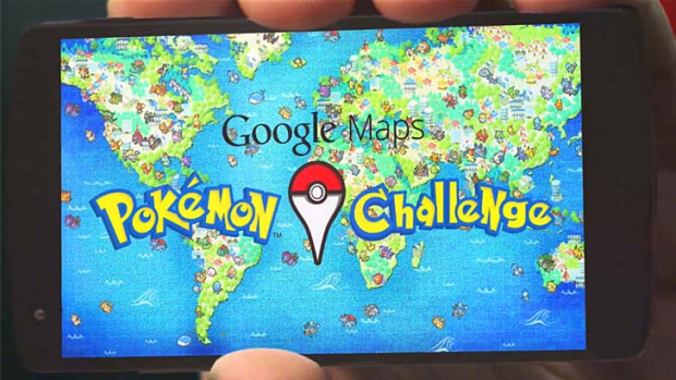Catch them all: Google has pulled a Pokemon prank.
