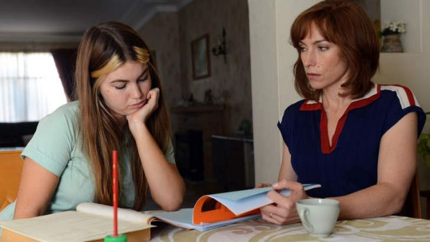 Struggling in a schedule wasteland ... <i>Puberty Blues</i> starring Charlotte Best as Cheryl and Claudia Karvan as Judy ...