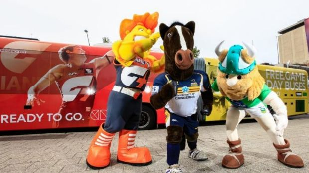 Ready to ride: The launch of the new ACTION free game day buses.