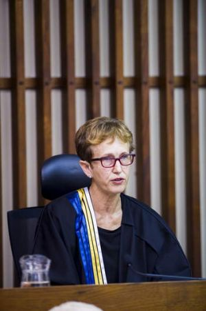 "Chief Justice Helen Murrell: ""it wouldn't be unhelpful to display some remorse.''"