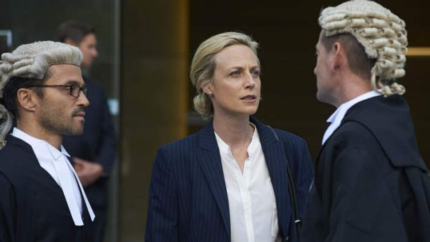 Spinoff: A scene from <i>Janet King</i>.