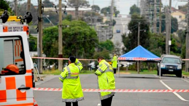 A woman's body has been found in Lace Street, Doveton.