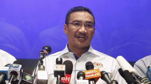 In the spotlight: Malaysia's acting Transport Minister, Hishamuddin Hussein.
