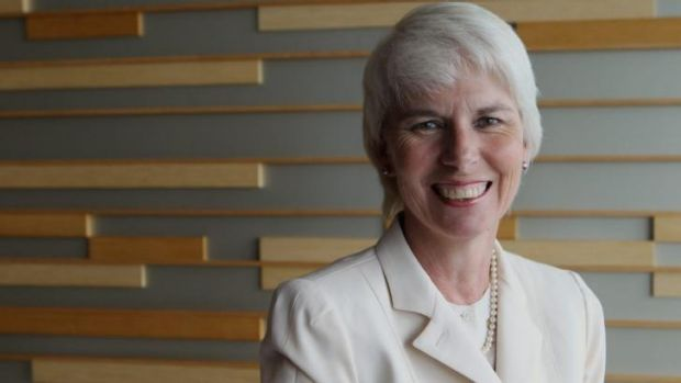 Gail Kelly ...  set the scene for further improvements in the second-half of the financial year.