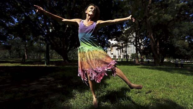 Hyde Park fling: Norrie dances for joy as court rules in favour of non-gender-specific people.