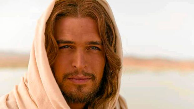 Diogo Morgado as Jesus in <i>The Bible</i>.