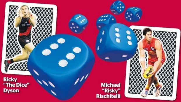 Once guilt is established, the convicted party is asked to roll the mega-dice in front of the bloodthirsty crowd.