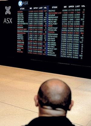 Investors are heading into a period of sharemarket uncertainty.