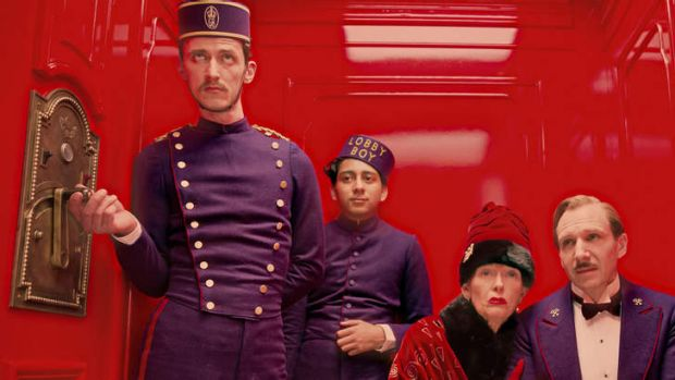 <I>The Grand Budapest Hotel.</I>