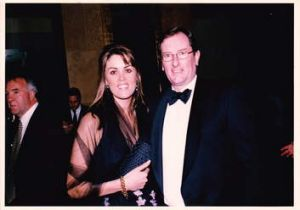 Liberal love: Credlin with her husband, Liberal Party federal director Brian Loughnane in 2006.