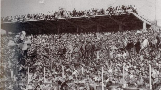 Crowded house: The SCG jam packed for the 1965 Grand Final.