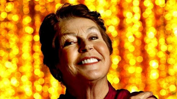Helen Reddy, photographed last week.