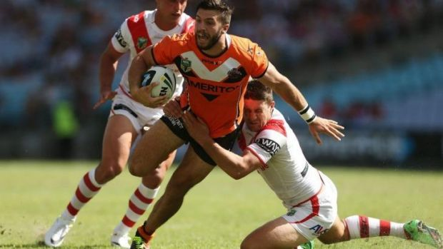 In demand: James Tedesco.